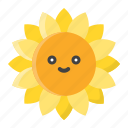 flora, floral, flower, nature, spring, sunflower icon