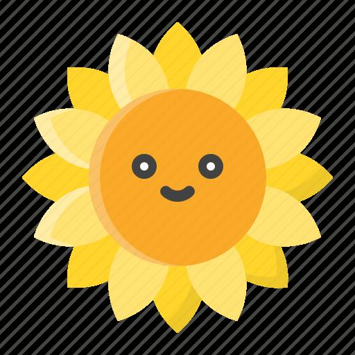 Flora, floral, flower, nature, spring, sunflower icon - Download on Iconfinder