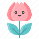 flora, floral, flower, nature, spring, tulip icon