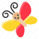 bug, butterfly, insect, nature, spring icon