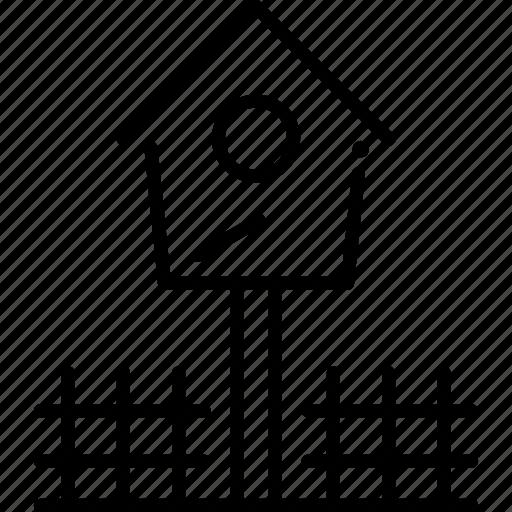 bird, bird house, birdhouse, house, pet shop icon