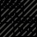 calendar, date, schedule, spring icon