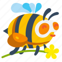 bee, bug, honey, spring