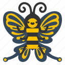 animal, butterfly, fly, nature, spring icon