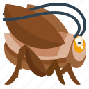 animal, bug, grass, grasshopper, nature icon