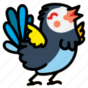animal, bird, wildlife, wing, wings icon