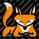animal, fox, nature, wild, wildlife