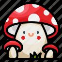 fresh, mushroom, natural, nature, season