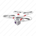aerial, aircraft, cartoon, control, quadcopter, technology, vehicle icon