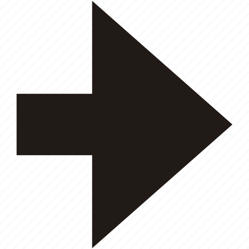 arrow, forwards, navigation, next, right icon
