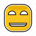deviant, emoji, emotion, expression, face icon