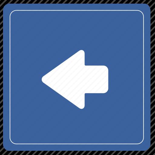 align, back, left, shape icon