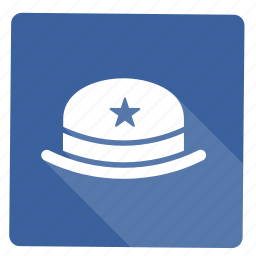 cap, christmas, star, winter, year icon