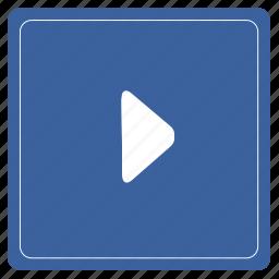 control, media, movie, multimedia, play icon