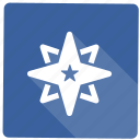 achievement, medal, star, winner icon