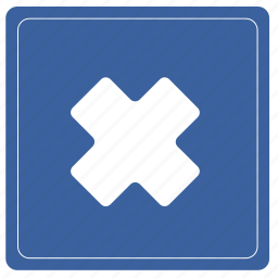 exit, no, restricted, warning icon