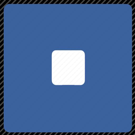 bin, exit, remove, stop icon