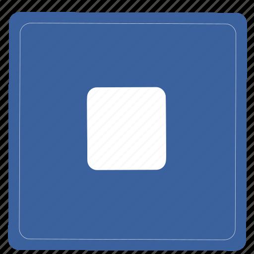 multimedia, player, remove, stop icon