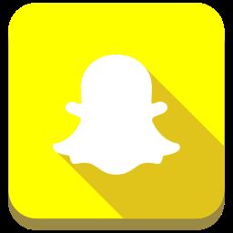 media, network, snapchat, social icon