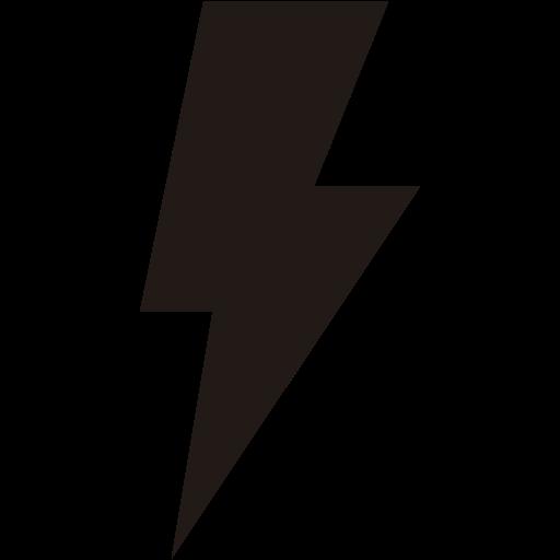 energy, forecast, lightning, stormy, weather icon