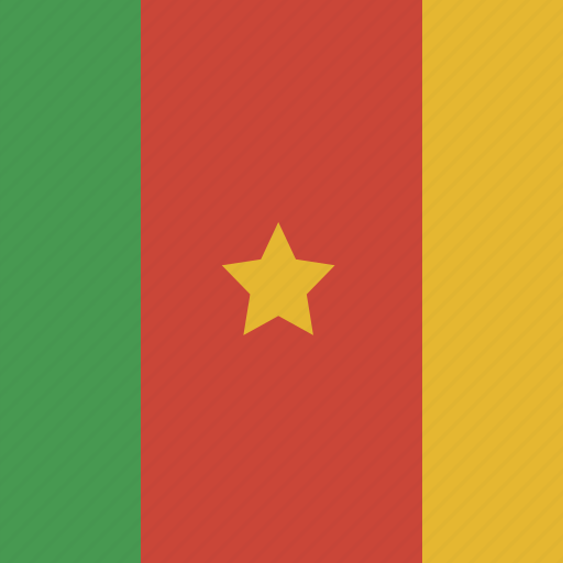 cameroon, square icon