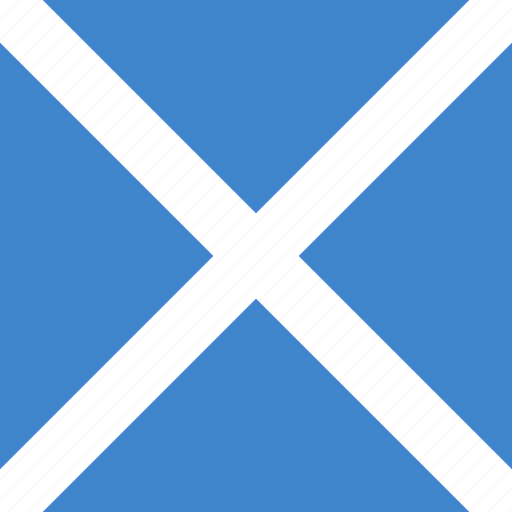 scotland, square icon