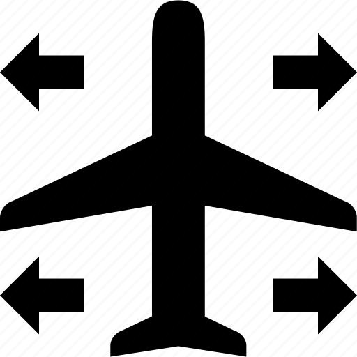 airplane, arrivals, flight, flying, incomming, transportation, travel icon