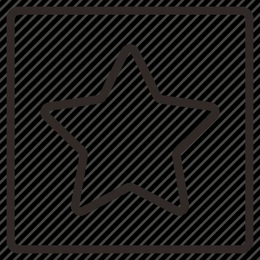 bookmark, favorite, popular, social, star, viral icon