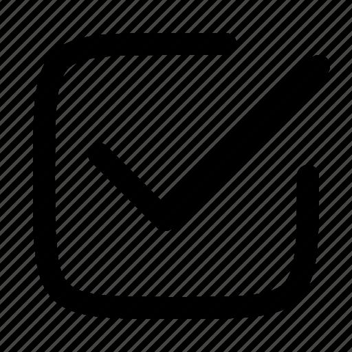 approve, checkbox, checked, ok, tick icon