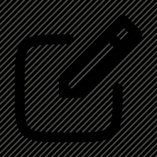 create post, edit, edit post, write icon