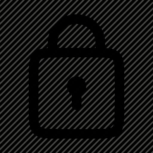 lock, locked, password, safe, security icon