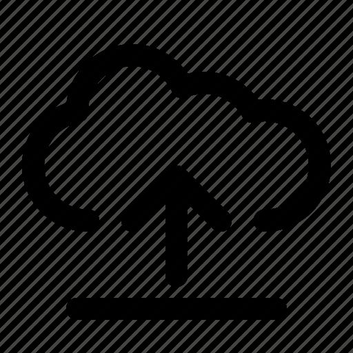 Cloud, upload, data, save, server, storage icon - Download on Iconfinder