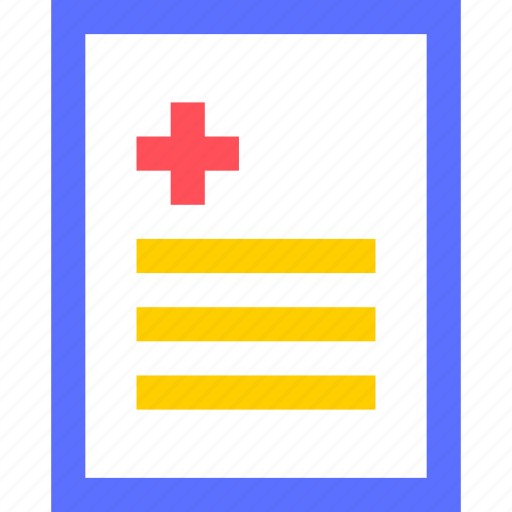 heal, health, hospital, medical, medicine, report icon