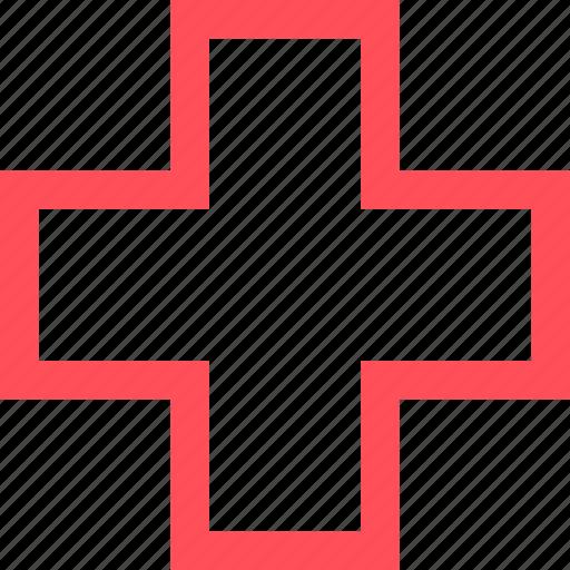 cross, heal, health, hospital, medical, medicine icon