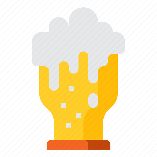 alcohol, alcoholic, beer, drink, glass icon