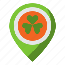 clover, irish, luck, placeholder, shamrock icon