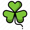 clover, leaf, luck, shamrock, st.patrick icon