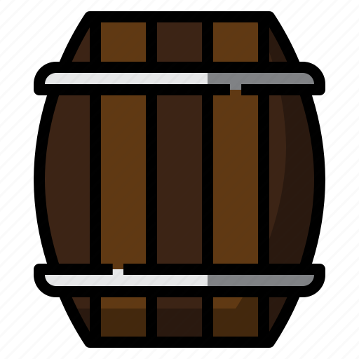 alcohol, barrel, beer, st. patrick icon