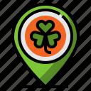 clover, irish, luck, placeholder, shamrock icon