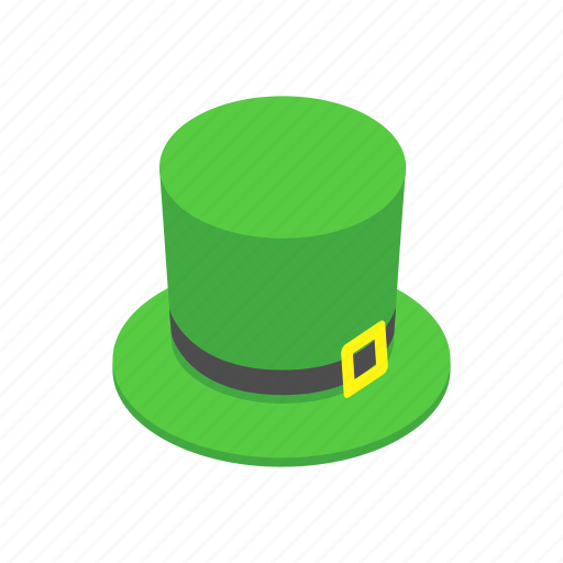 clover, green, holiday, isometric, luck, march, patrick icon