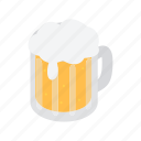 alcohol, beer, beverage, drink, glass, mug, pub icon