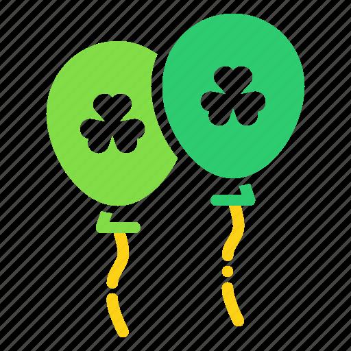 Balloon, celebrate, festival, irish, patricks, saint, celebration icon - Download on Iconfinder