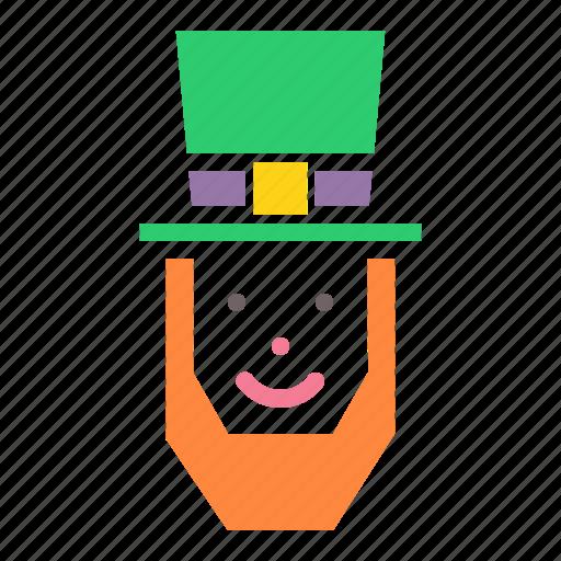 day, hat, irish, leprechaun, lucky, patricks, saint icon