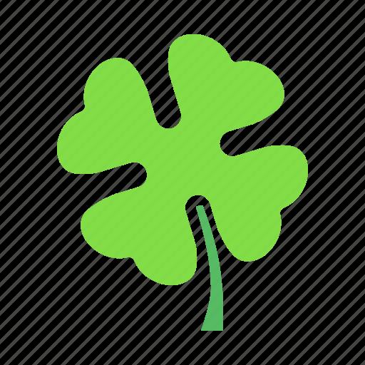 Clover, day, four, leaf, patricks, saint, shamrock icon - Download on Iconfinder