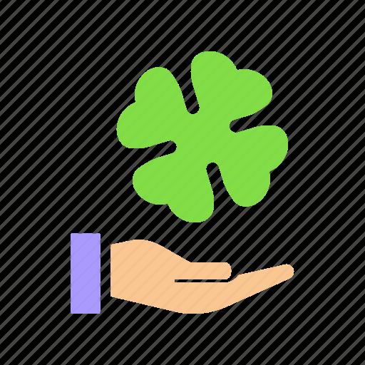 clover, festival, four, leaf, patricks, saint, shamrock icon