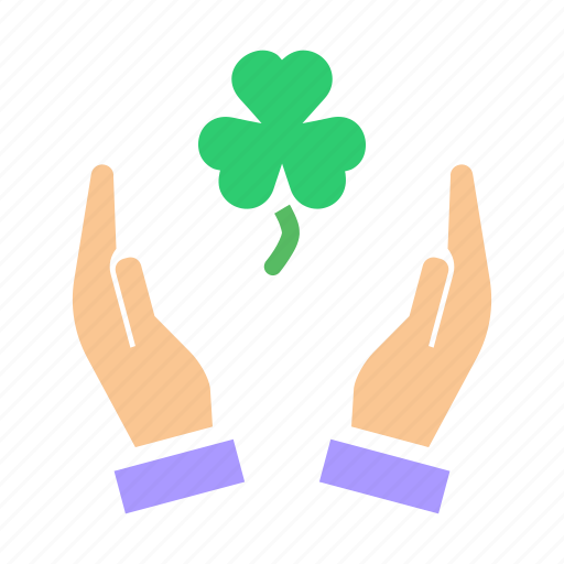 Clover, day, leaf, patricks, saint, shamrock, three icon - Download on Iconfinder
