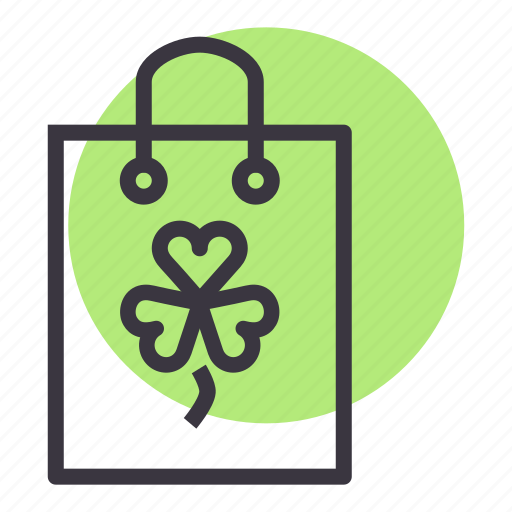 Bag, day, patricks, purchase, saint, shop, shopping icon - Download on Iconfinder