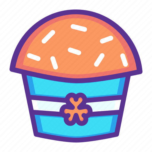 Cake, celebrate, festival, muffin, patricks, saint, hygge icon - Download on Iconfinder