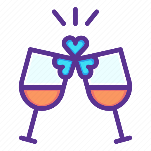 Celebrate, cheers, party, patricks, saint, wine, drink icon - Download on Iconfinder