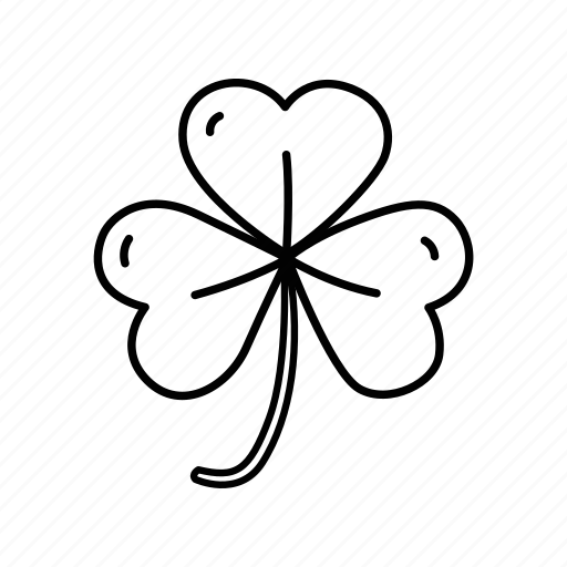clover, green, leaf, luck, lucky clover, st patrick's day, three leaf clover icon